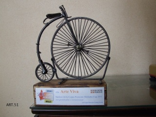 art.51  Trofeo, Velocipede